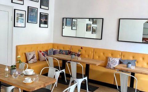 Iso keskieurooppalainen Cafe Helsingissä